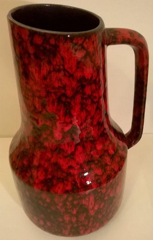 West German Scheurich jug vase