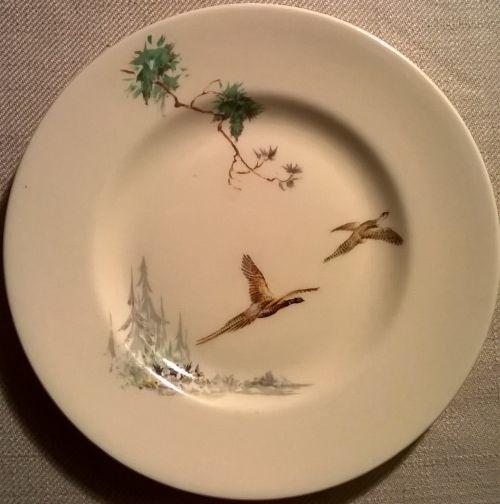 & Vintage Royal Doulton tea plate