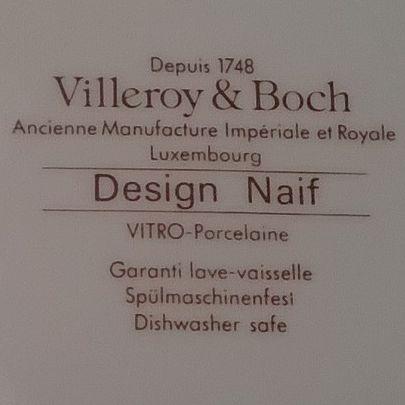 noah 39 s ark villeroy boch design naif pattern plate. Black Bedroom Furniture Sets. Home Design Ideas