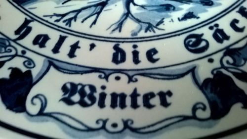 Royal Goedegewen Winter plate