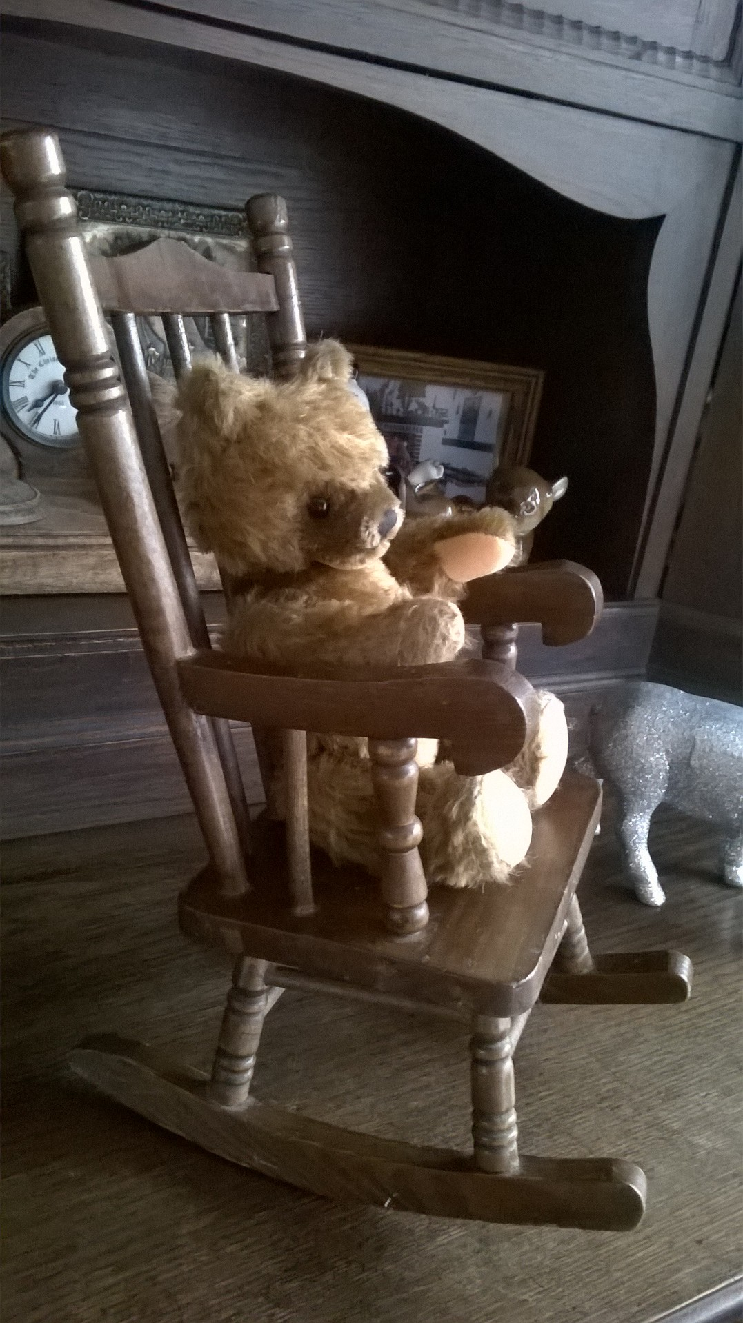 Victorian toy rocking chair