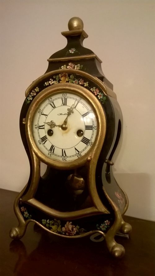 Hochler Boulle mantle clock