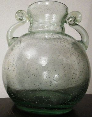 Lysa Gora Polish glass vase