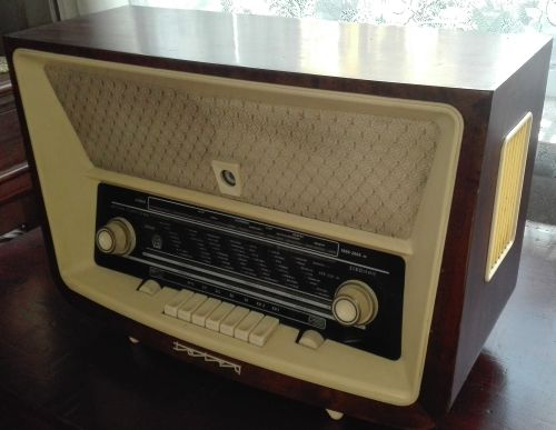 Polish tube radio Tatry