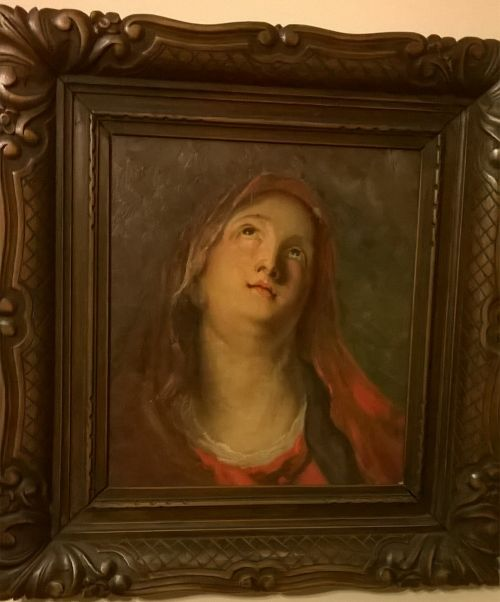 Mary Magdalene antique painting