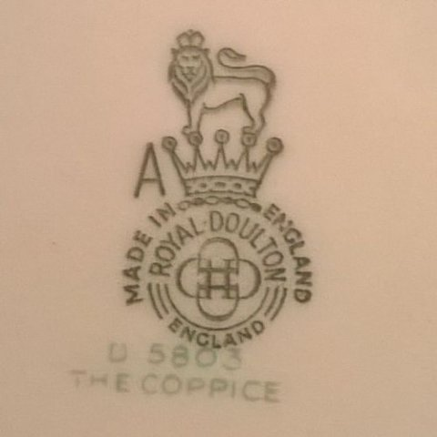 Royal doulton marks and dates