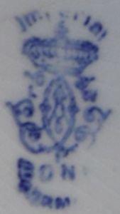 Bonn porcelain marks royal Royal Bonn