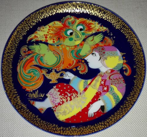 Rosenthal 'Aladdin and the Wonder Lamp' plates