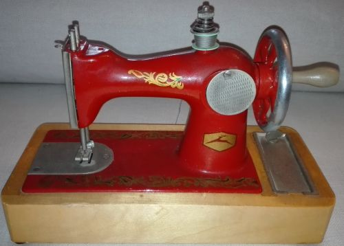 Toy Soviet sewing machine